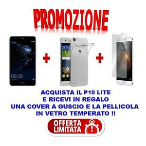 PROMO-SMARTPHONE-HUAWEI-P10-LITE-BLACK-32-GB-ITALIA-SPEDIZIONE-GRATIS