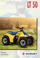 SUZUKI  QUAD  LT 50 CATALOGUE