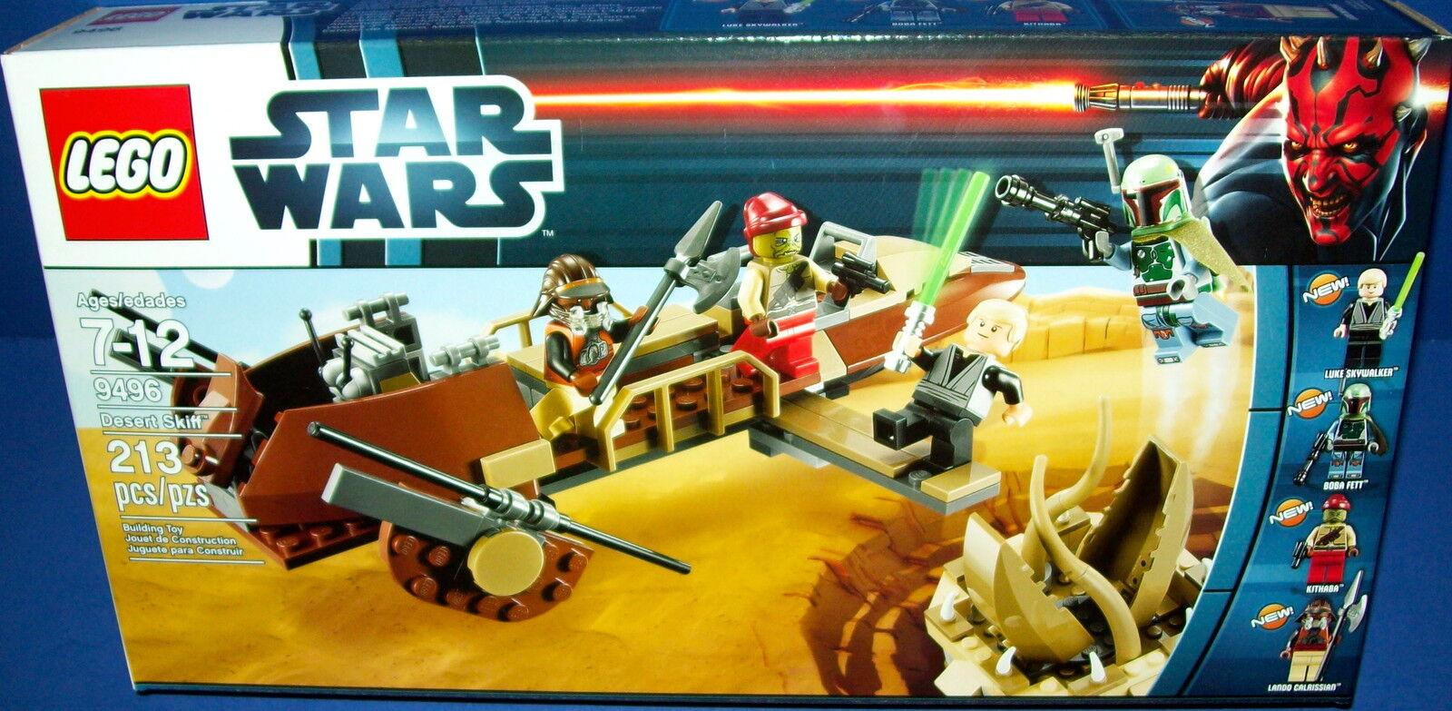 Lego 9496 Star Wars  Wüsten Skiff Htf Neu Ovp Im Ruhestand