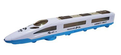 Spielzeug Zug U Bahn Schnellzug Eisenbahn Straßenbahn Spielzug LED Licht Sound