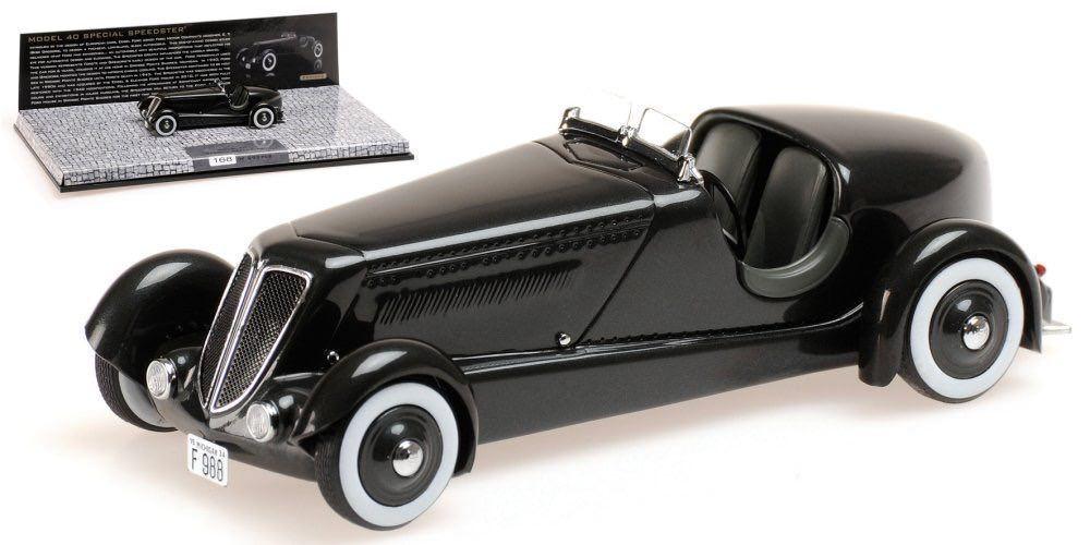 Venta en línea de descuento de fábrica Minichamps 437082040 edesl ford's Model 40 Special Speedster Speedster Speedster 1 43 nuevo embalaje original &  opciones a bajo precio
