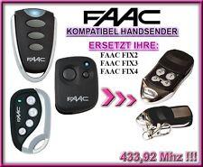 FAAC FIX2 / FAAC FIX3 / FAAC FIX4 kompatibel handsender, Ersatz 433,92Mhz