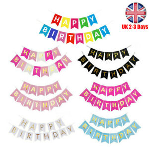 UK-Happy-Birthday-Bunting-Banner-Pastel-Hanging-Letters-Party-Decoration-Garland