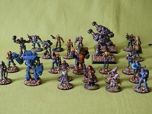 Wargames-Foundry-2000AD-Modelos-28MM-Muchos-Para-Elegir