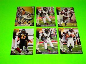 6-HAMILTON-TIGER-CATS-UPPER-DECK-CFL-FOOTBALL-CARDS-37-39-39-41-42-120-3