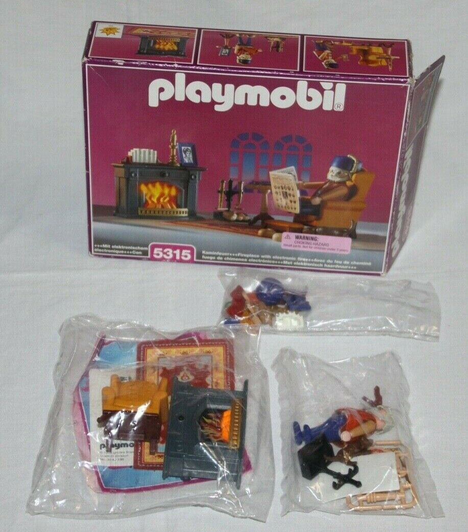16277 Playmobil Homme Orange Vintage