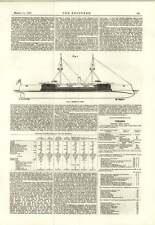 1889 Barbette Ship J Swain Engineer
