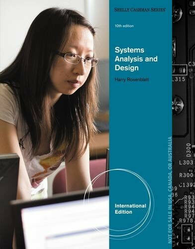 Shelly Cashman Ser Systems Analysis And Design Book Only By Harry J Rosenblatt And Gary B Shelly 2013 Hardcover For Sale Online Ebay