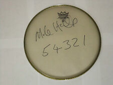 MIKE HUGG SIGNED DRUMHEAD