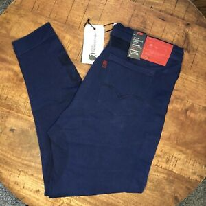 Levi-s-Joggers-Pants-Engineered-Jeans-Blue-Knit-Pants-5-Pocket-Mens-Size-XL