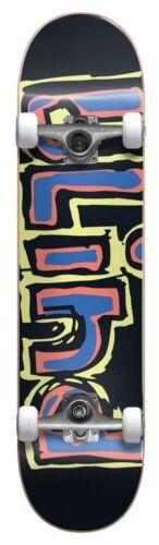 Blind Complete Skateboard Matte OG 7.75 Wide Yellow Red Blue