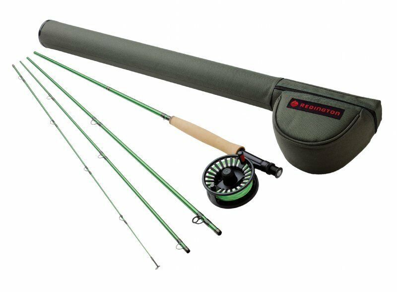 Redington Vice 790-4 Fly Rod Outfit  - 9' 7wt, 4pc rod, reel and line - New  cheap wholesale