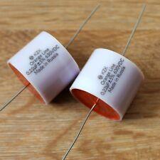 Audio Grade 0.1uF 200V Lot of 2-0.1MFD  Metal Film capacitor