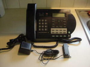 Details about Used Nortel Venture 3-line Business Phone BLACK OR ALMOND -  INCLUDES USER MANUAL