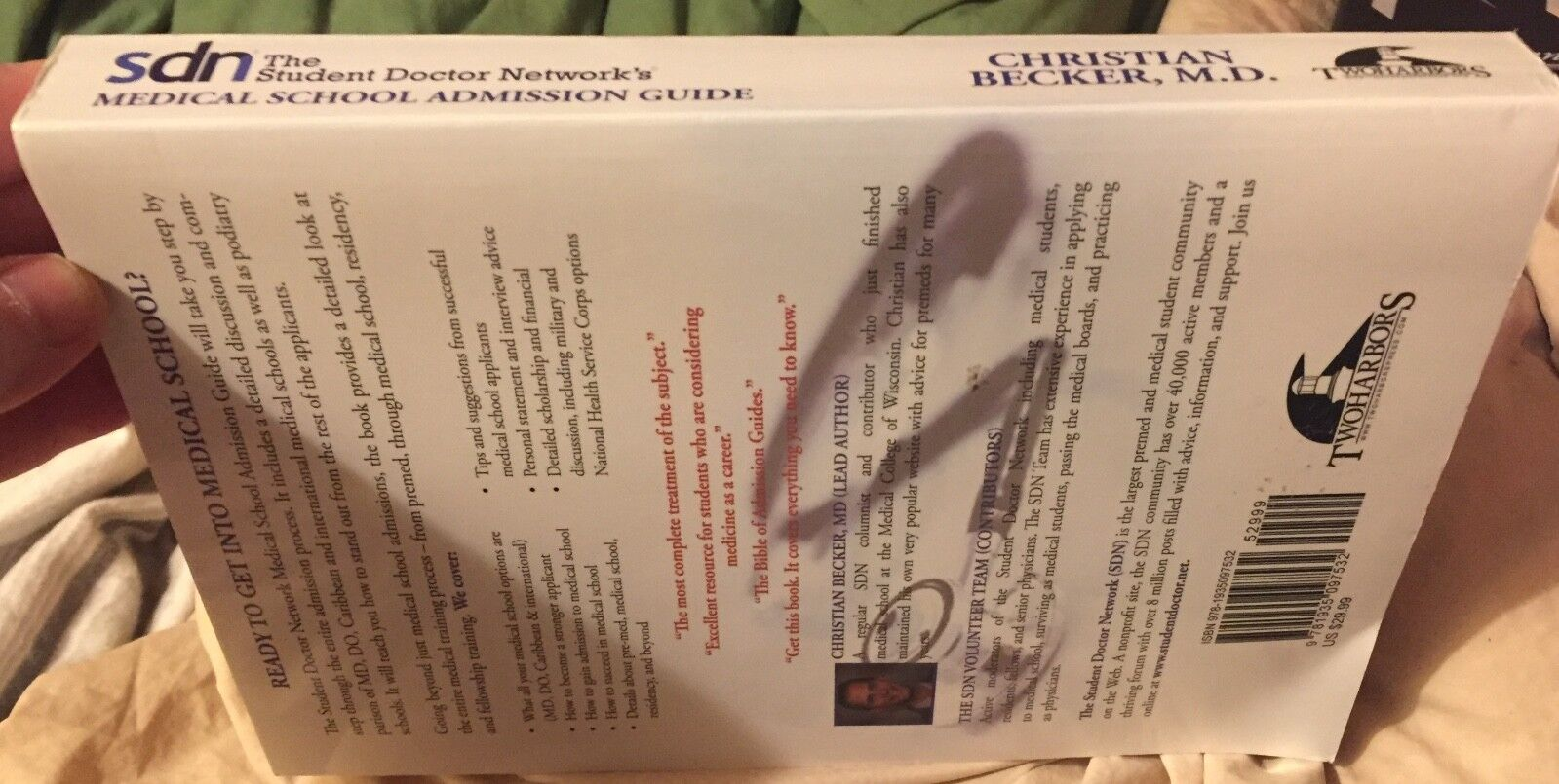 The Student Doctor Network Medical School Admission Guide by Christian  Becker (2010, Paperback)