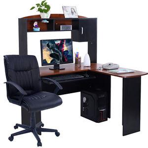 Image Is Loading Corner Computer Desk L Shaped Workstation Home Office