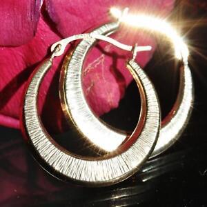 10k-yellow-gold-earrings-0-80-034-diamond-cut-hoop-vintage-handmade-0-9gr