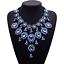 Women-Fashion-Crystal-Necklace-Choker-Bib-Statement-Pendant-Chain-Chunky-Jewelry thumbnail 8