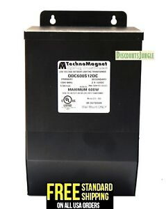 Details About Technomagnet Magnetic Low Voltage Outdoor Lighting Transformer Odc600s12dc 600w