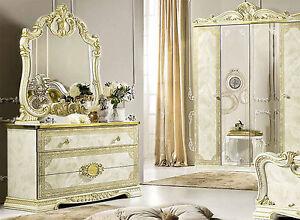 schlafzimmer kommode highboard leonardo barockstil. Black Bedroom Furniture Sets. Home Design Ideas