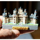 TOURIST SOUVENIR Resin 3D FRIDGE MAGNET ---- Chambord Castle , France P