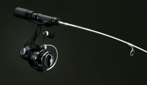13 pêche voile blanc Ice Fishing Rod Reel Combo-choisir longueur//Action
