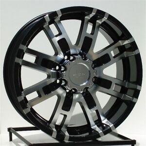 black wheelsrims chevy dodge ram    lug hummer   helo ebay