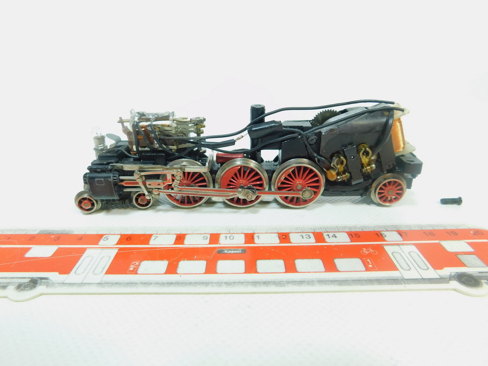 BP562-1  Märklin H0 AC Fahrwerk für Dampflok Dampflokomotive mit Telex