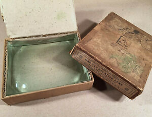 Antique-American-Optical-WW1-Aircraft-Fighter-NEGATIVE-LENS-Bomb-Sight-BOX