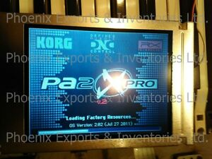 Details about Brand New Korg LCD Screen for Korg PA800 PA2X Pro LCD panel  without touch screen