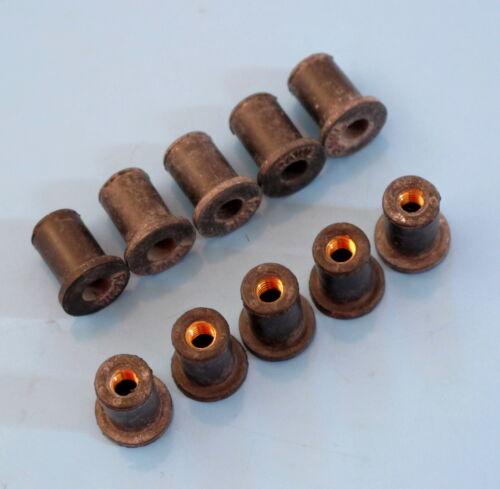 MV AGUSTA écran//Airbox Rubber Nuts 4 mmset 10//offre spéciale