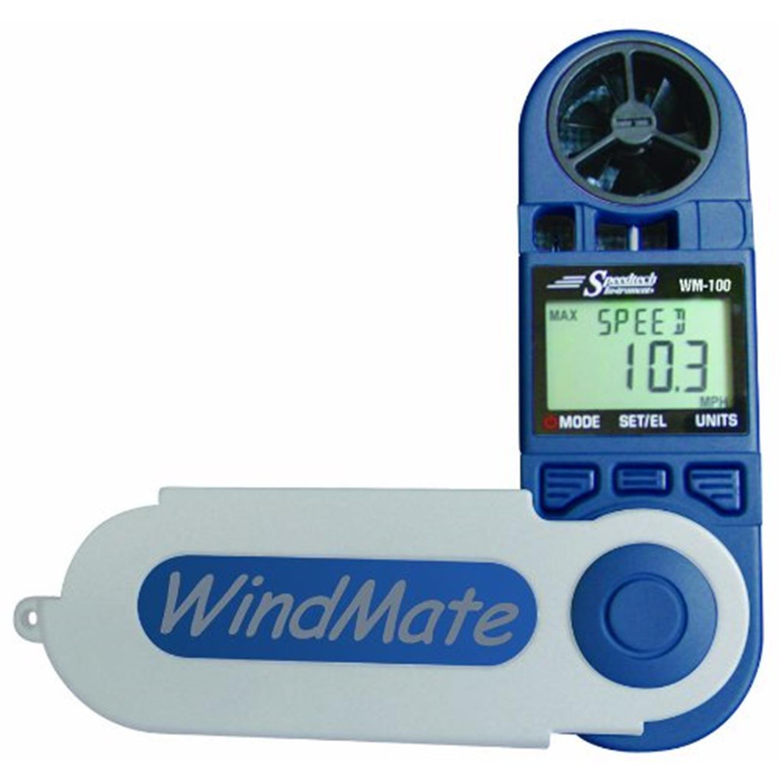 Anemómetro Windmate 100 Modelo súperior con Veleta de Surf Cometa Navegar a