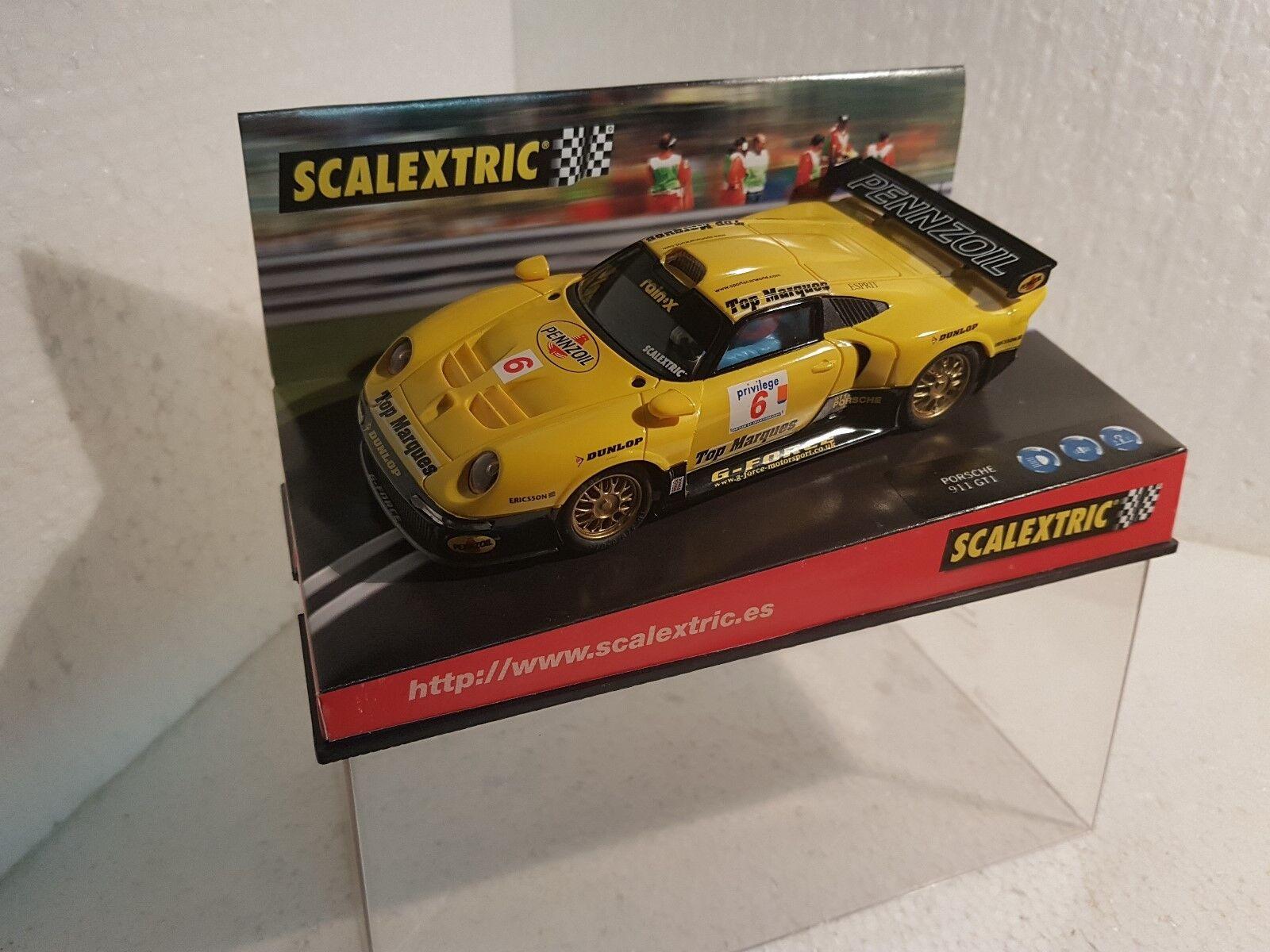Qq 6015 SCALEXTRIC PORSCHE 911 GT1 PENNZOIL  6