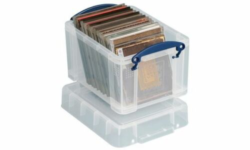 REALLY USEFUL BOX Ersatzdeckel Aufbewahrungsbox transparent 3CCB Deckel Büro