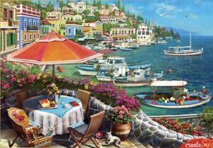 """Puzzles 1500 pieces 58*85 cm """"Sea embankment """"Red Cat Х1500-0644"""