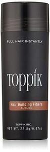 TOPPIK-Hair-Building-Fibers-AUBURN-97oz-LARGE-Thinning-Hair-Treament