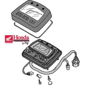 GENUINE HONDA OEM 2004 TRX500 FGA SPEEDOMETER DISPLAY CLUSTER 37200-HN2-A11
