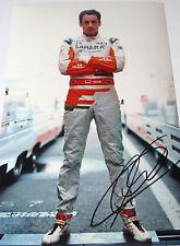 Adrian Sutil  SIGNED 12x8, F1 Force India Portrait , Jerez Test 2013.
