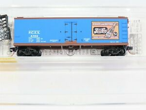 N-Scale-MTL-Micro-Trains-47340-PCEX-Pepsi-Cola-40-039-Double-Sheathed-Reefer-4702