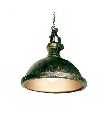 Pendelleuchte Lampe Hängelampe Metall Industrie Antik messing Flur Bar Küche LED | eBay