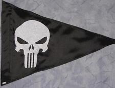Custom Triangle Punisher Safety Flag 4 ATV Jeep Recumbent  bike UTV Whip Pole