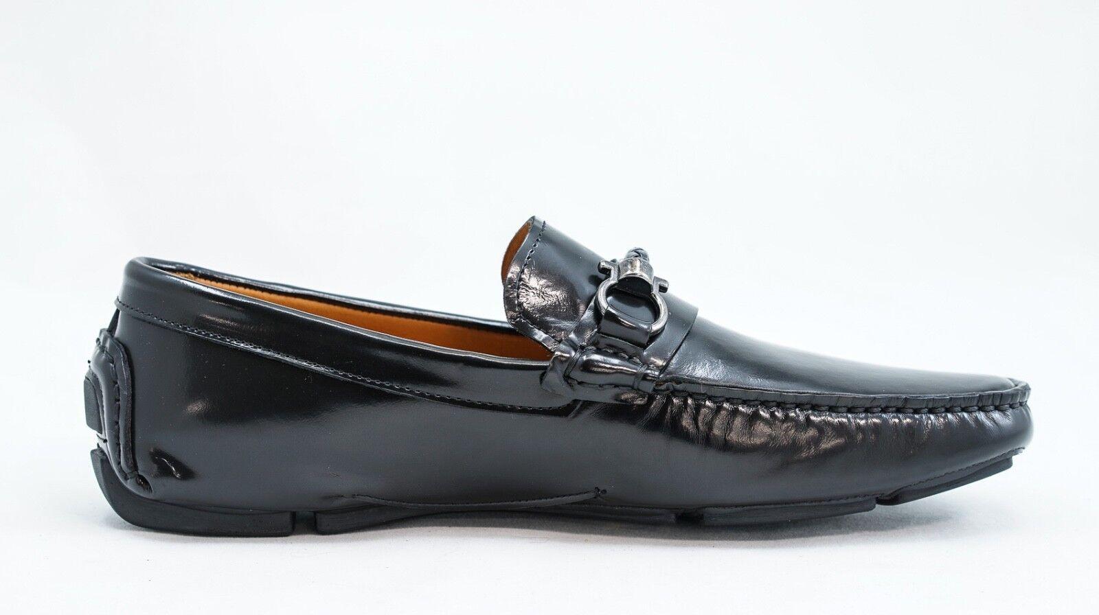 disegni esclusivi New in Box Box Box Roberto Serpentini nero Leather Loafer 1053  spedizione veloce e miglior servizio