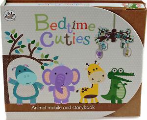 Coucher-Animal-Cuties-Cockney-histoire-chambre-a-coucher-Hanging-Mobile-Nouveau-Ensemble-Cadeau-bebe