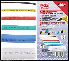 BGS - Heat Shrink PVC - Multi Coloured, 2-1 Ratio, 600 V - 100 Pc Set - 8123
