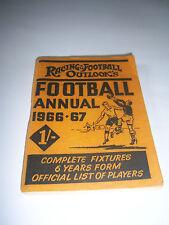 RACING & FOOTBALL OUTLOOK'S FOOTBALL ANNUAL 1966/67 - LIVERPOOL / EVERTON / WBA