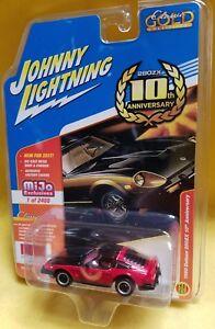 JOHNNY LIGHTNING 1//64 1980 NISSAN 280Z DATSUN 10TH ANNIVERSARY DIECAST JLCP7006