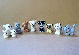 NEW-LEGO-Lot-10-Friends-Pets-Animal-Minifig-Dog-Puppy-Cat-Kittens-Bunny-CUTE