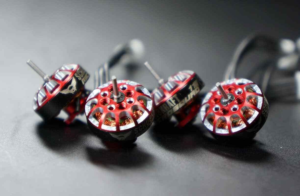 Capacidad de propulsión microsquad 1102 9000kv brushless 2-3s motor-set