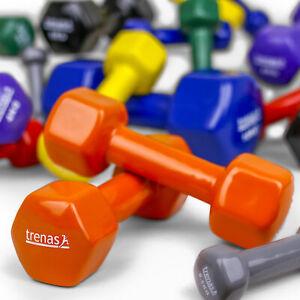 Kurzhanteln-trenas-Hantel-Paar-0-5-bis-10-kg-Fitness-Kraft-Training