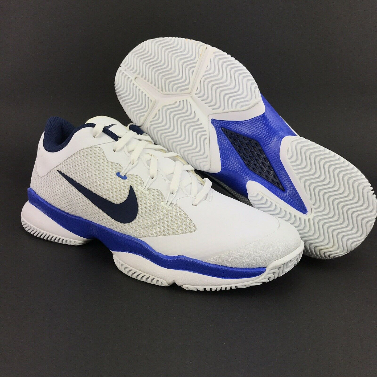 Nike Womens Air Zoom Ultra White bluee Tennis shoes Size 11